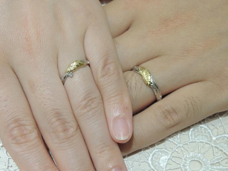 [結婚指輪][オーダーメイド][手作り][オリジナル]