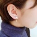 [和風ピアス][京都][かわいい][真珠]