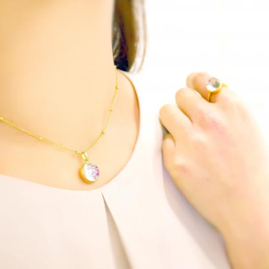 [水晶][虹][記念][指輪][ネックレス][ピアス]