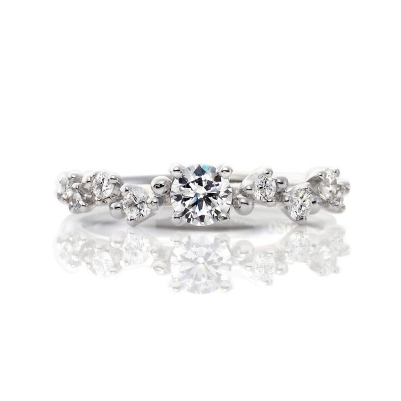 [カスミソウ][結婚指輪][婚約指輪][お花]