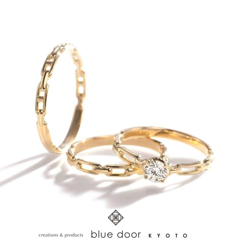 [結婚指輪][婚約指輪][京都][モチーフリング]