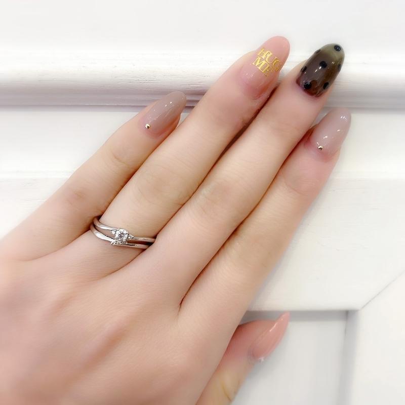 [ペアリング][結婚指輪][婚約指輪][高松][ダイアモンドリング]