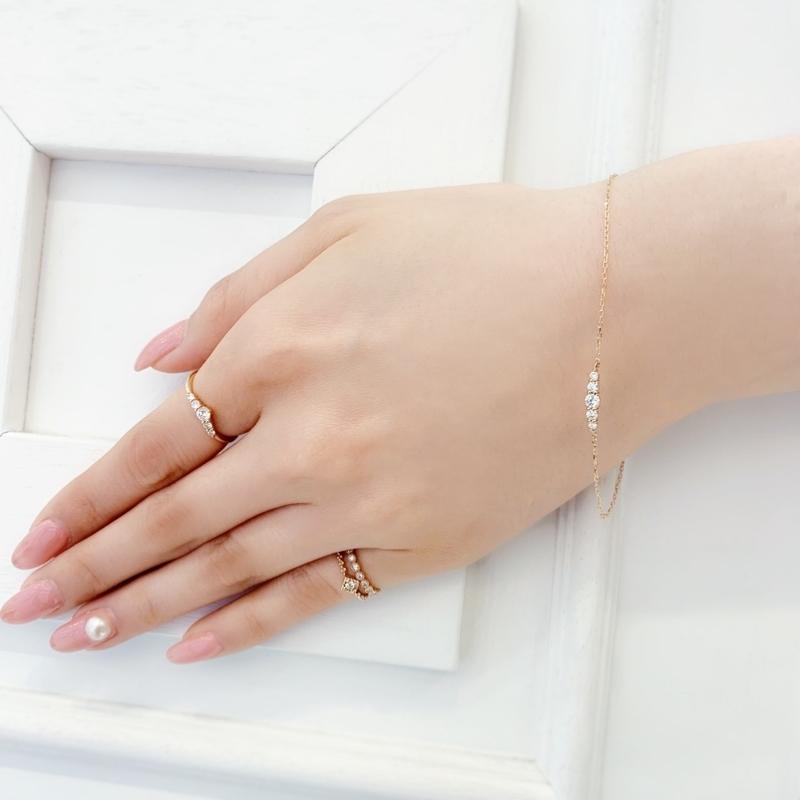 [ダイアモンドブレスレ][誕生日プレゼント][ご褒美ジュエリー][高松][人気][ブレスレット]