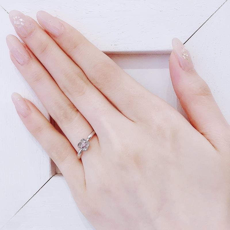 結婚指輪][婚約指輪][マリッジリング][ピンクダイアモンド][高松人気]