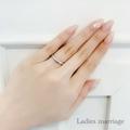 [結婚指輪][婚約指輪][マリッジリング][ピンクダイアモンド][高松人気]