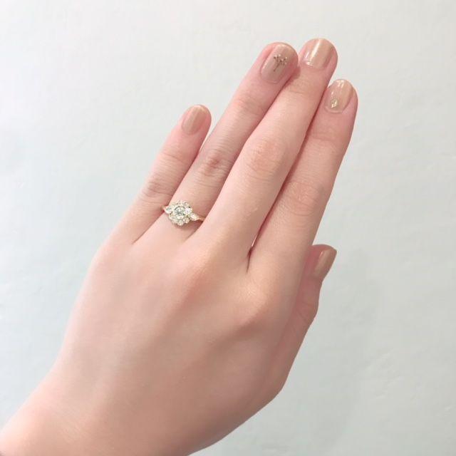 [京都婚約指輪][京都リング][婚約リング]