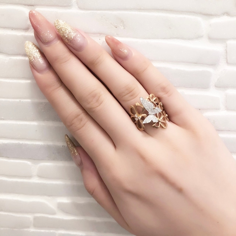 [vacamcecollection][高松][婚約指輪][結婚指輪]