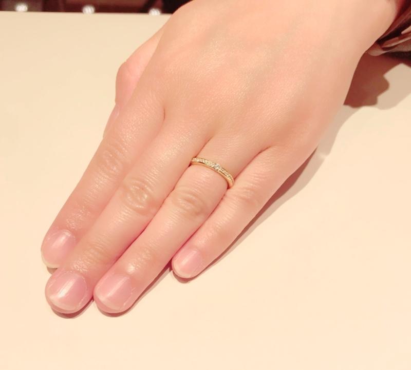 [手作り指輪][京都指輪人気][京都ハンドメイド]