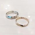 [高松][結婚指輪][オーダーメイド][魚][羽根]