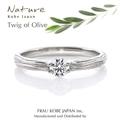 [木目][結婚指輪][婚約指輪][重ねづけ][オリーブ]