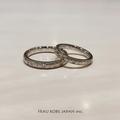 [香川][高松][結婚指輪][手作り][プリンセスカット]