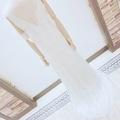 [weddingdress][bride][white][back]