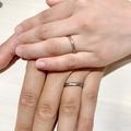 [マリッジリング][結婚指輪][槌目][ハンマー][手作り]