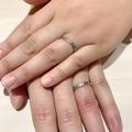 [結婚指輪][マリッジリング][彫刻][手作り][高松]