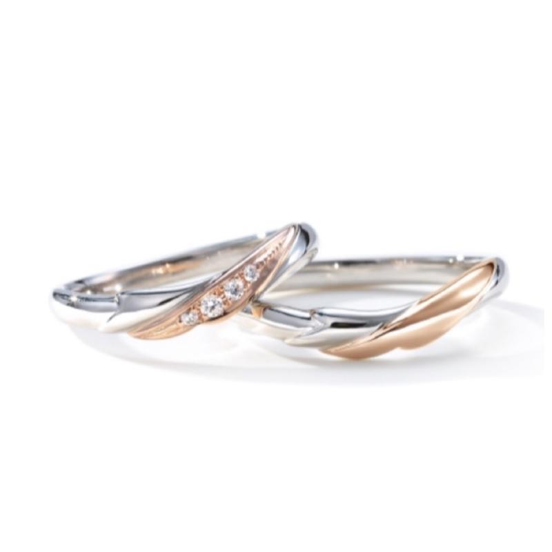 [さくら][春限定][結婚指輪][ウェディング]
