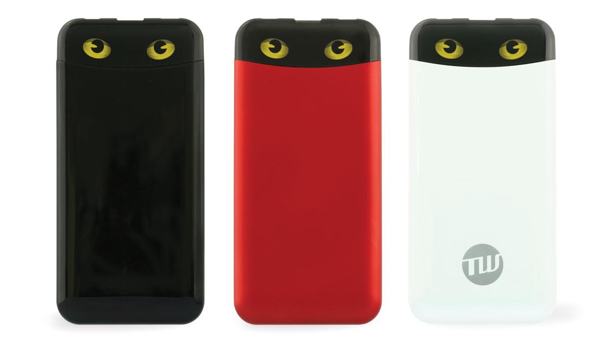 猫の目 モバイルバッテリー