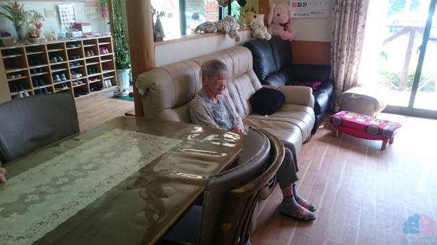 入所時の祖母