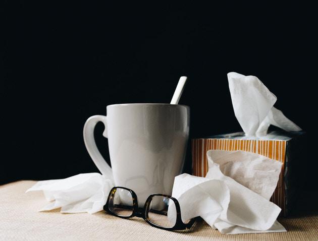 インフルエンザ治癒証明書