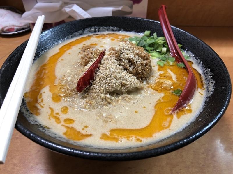 蔵元、しびれ担々麺