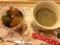 みつ豆とプレミアムブレンドコーヒー