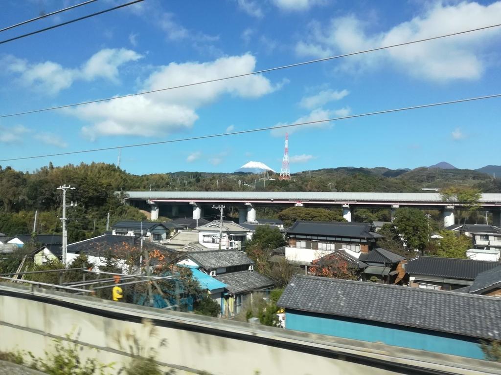 新幹線の景色