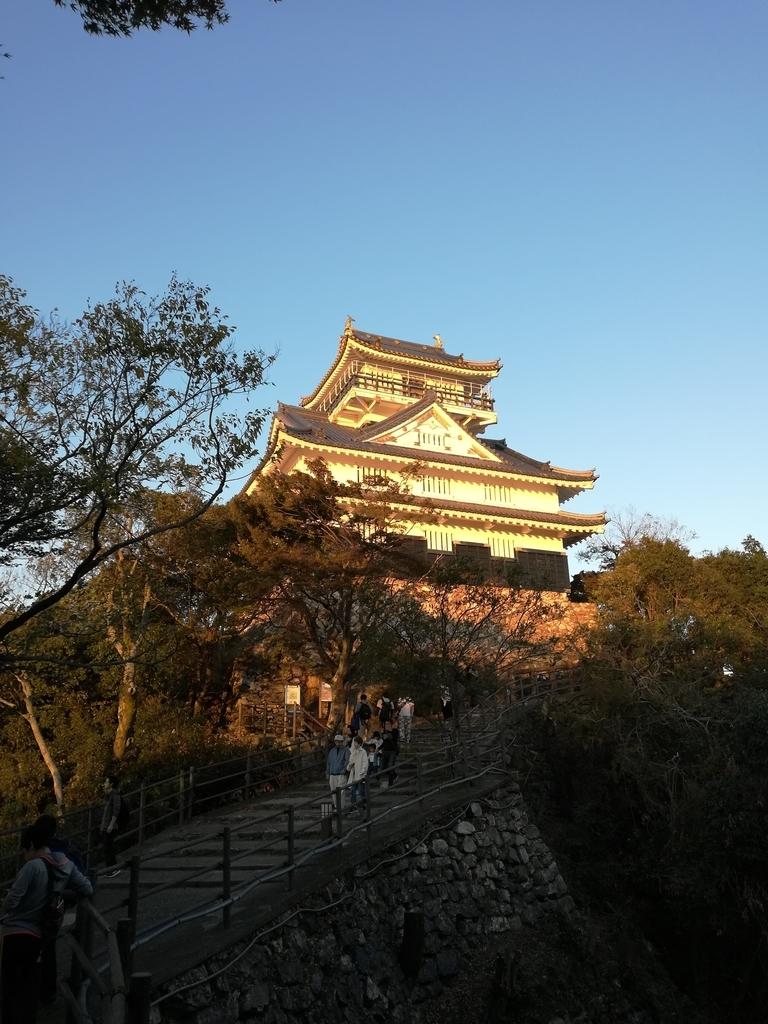 岐阜城の天守閣