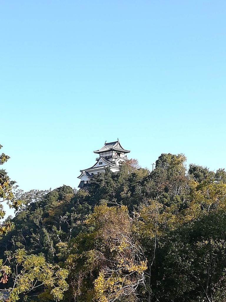 犬山城の風景