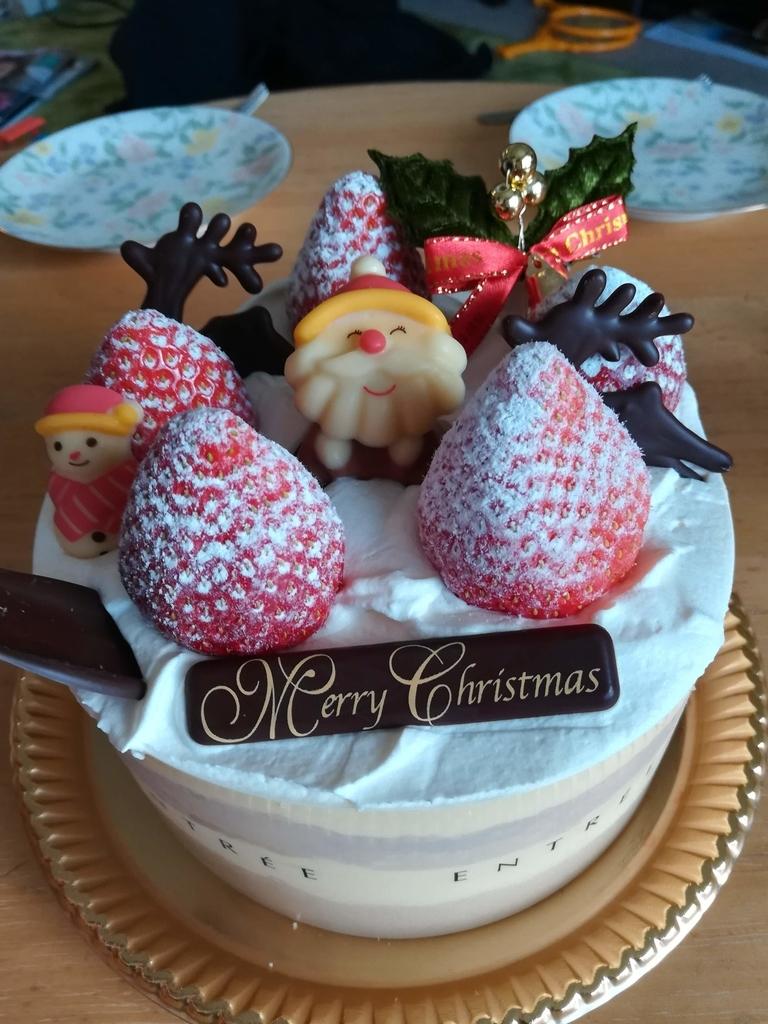 アントレ(船橋市海神)のクリスマスケーキ