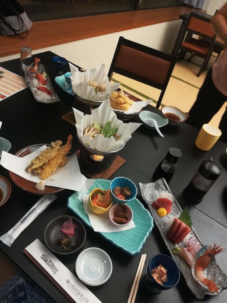 城ヶ島京急ホテルの夕食
