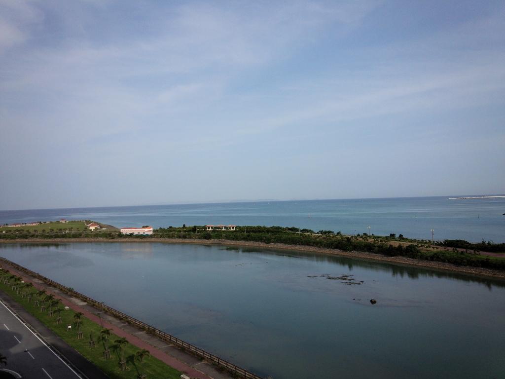ホテルグランビューガーデン沖縄からのオーシャンビュー