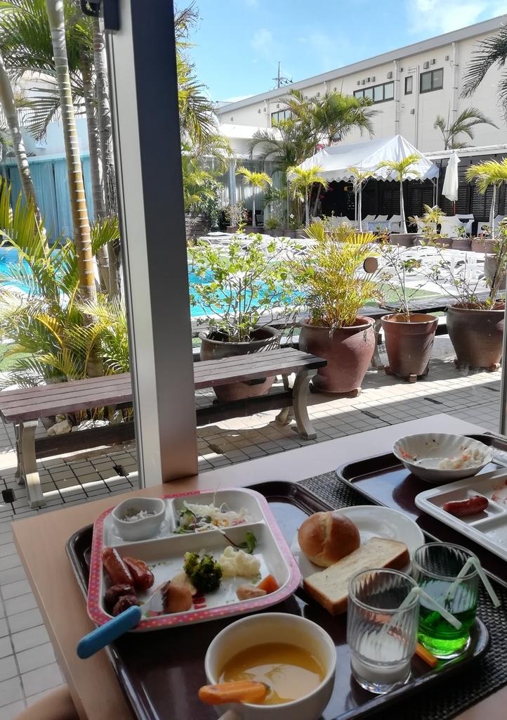 ホテルグランビューガーデン沖縄の朝食