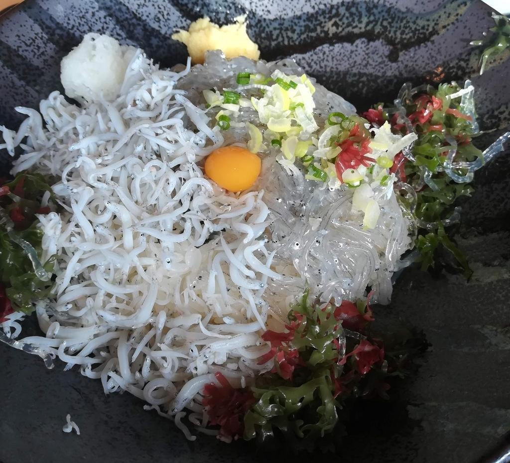 湘南エリアに来たら生シラスはぜひ食べておきたい