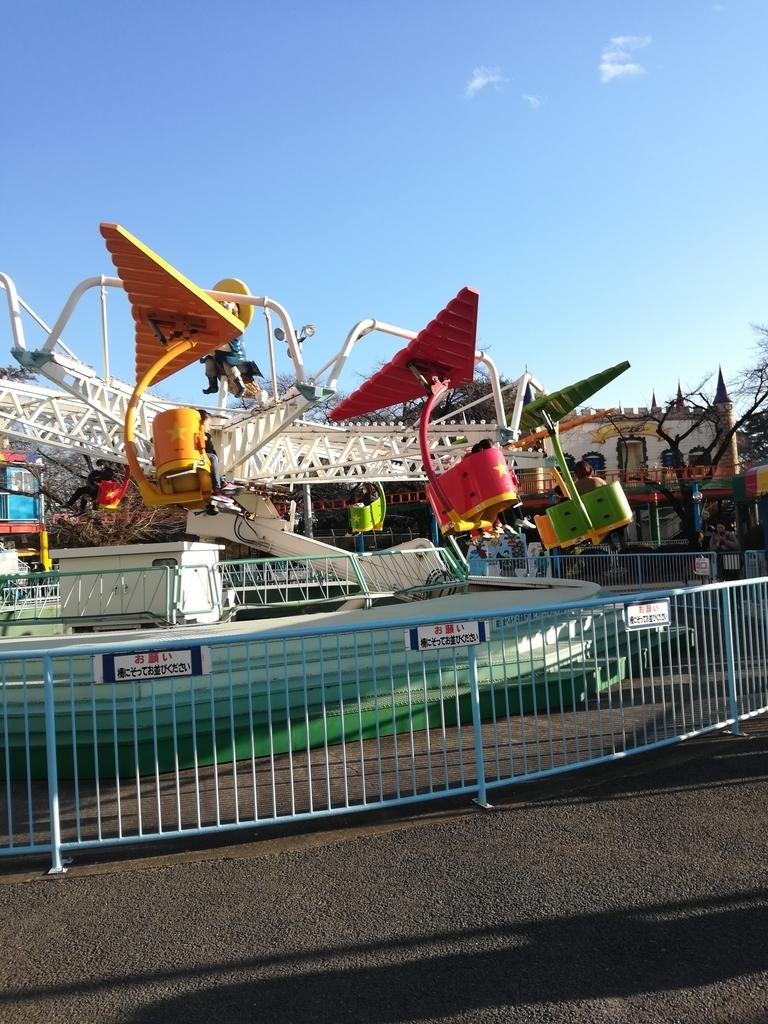 華蔵寺公園遊園地のマジカルグライダー