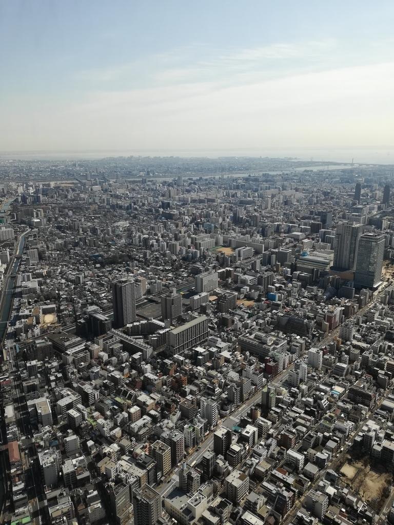 東京スカイツリーからの眺望