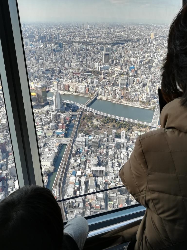 東京スカイツリーより池袋方面