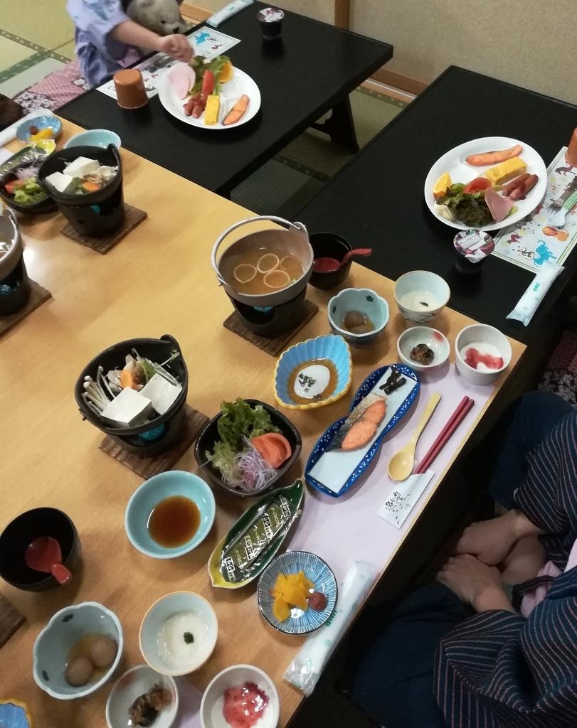 老神温泉山口屋は朝食もおいしいですよ!