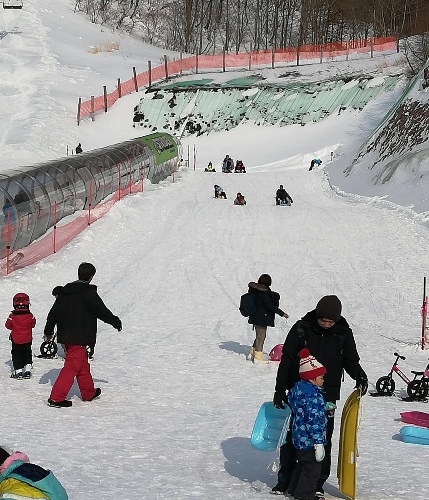 川場スキー場の子ども用ゲレンデは安心して遊べます!