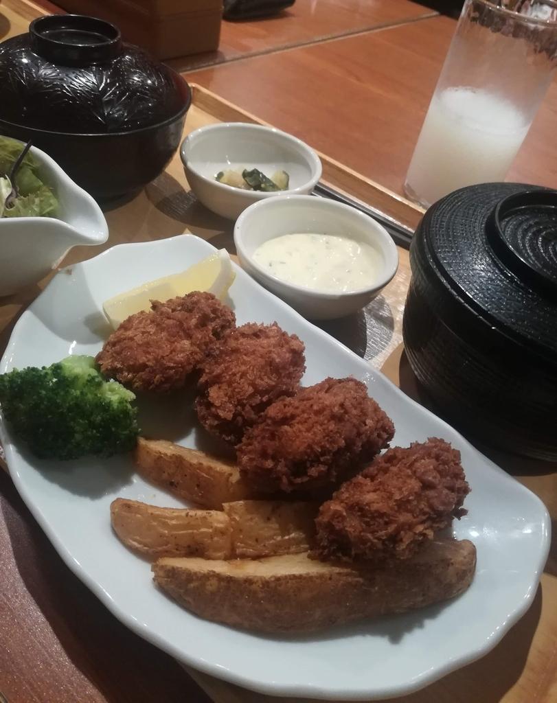 """『COCO'S』の""""広島県産""""牡蠣フライ膳はおいしい!"""