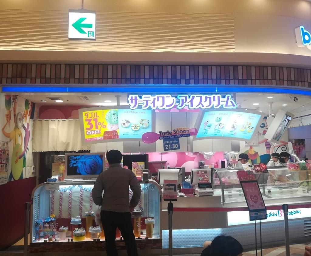 サーティワンアイスクリームはとてもおいしい!