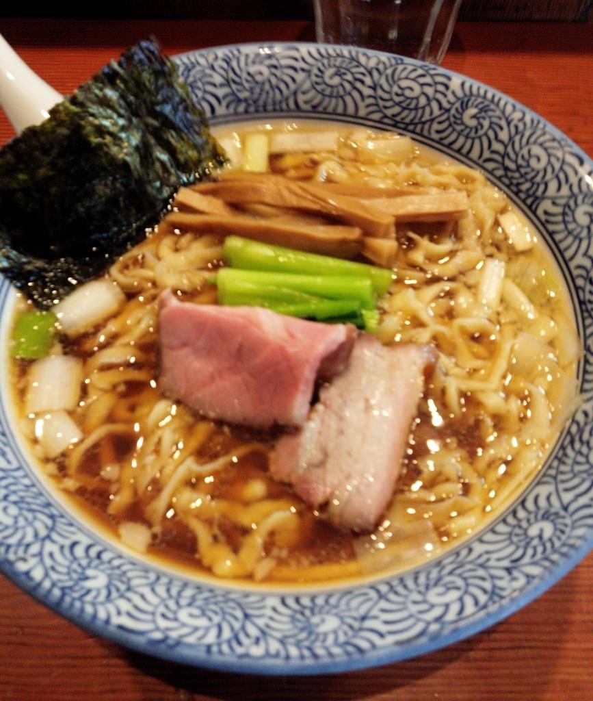 麺処ほん田の手揉み中華蕎麦