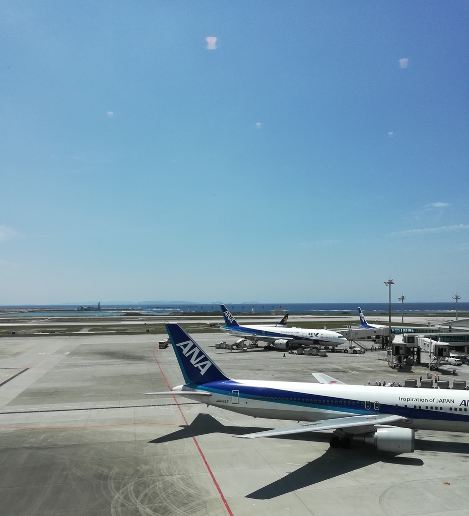 那覇空港に到着していきなり沖縄そばを食べればテンションはマックス!