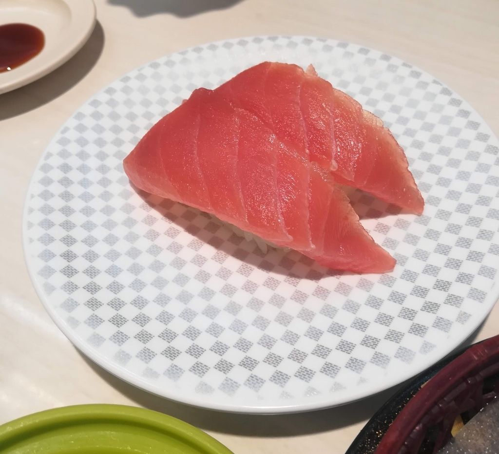 魚べいのマグロ!