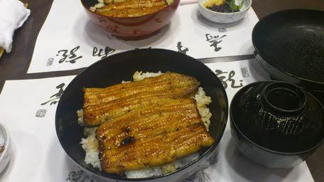 竹葉亭銀座店のうなぎ丼は安くておいしい!