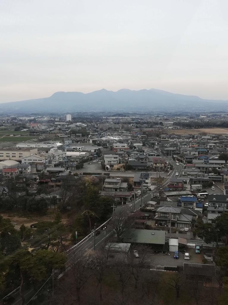 華蔵寺公園遊園地からの赤城山