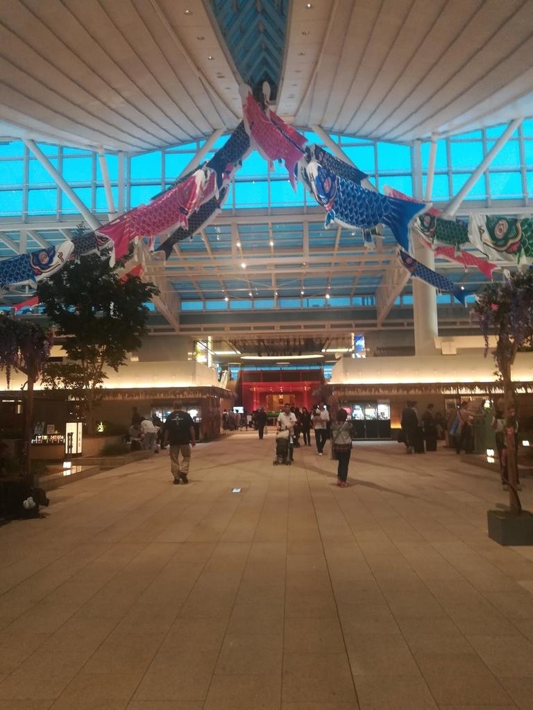 羽田空港国際線ターミナルは旅気分が満載!