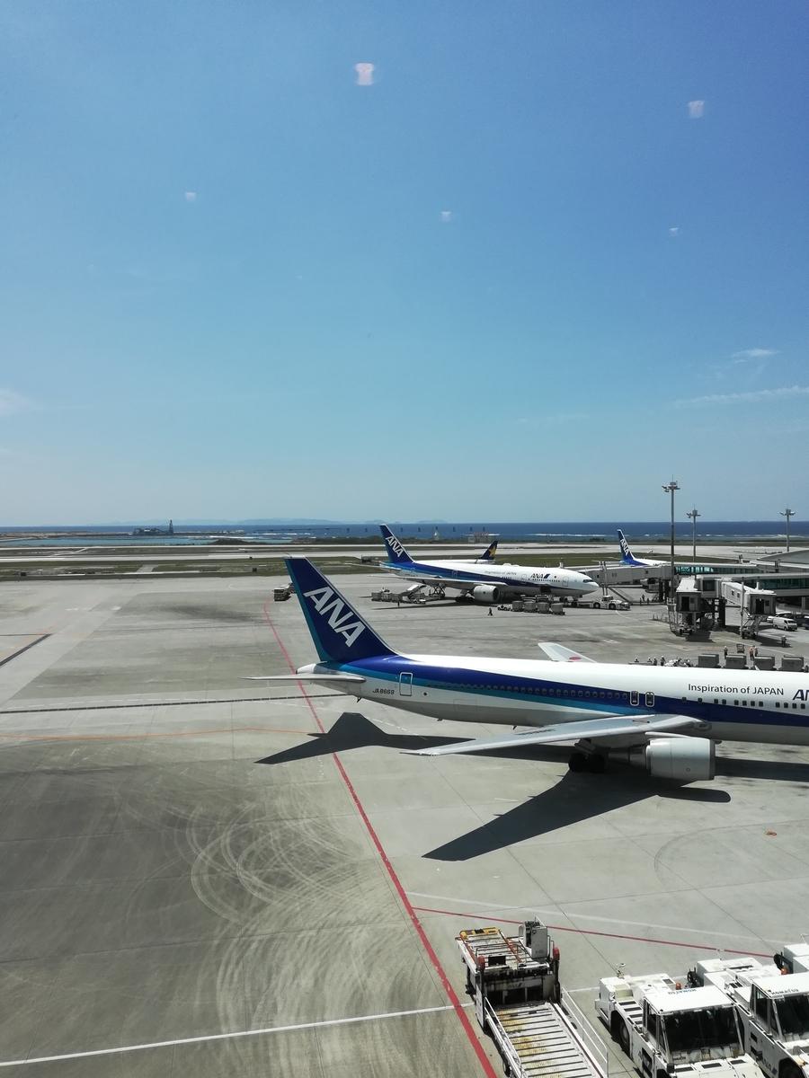 那覇空港のレストラン風月は窓際の席がオススメ!