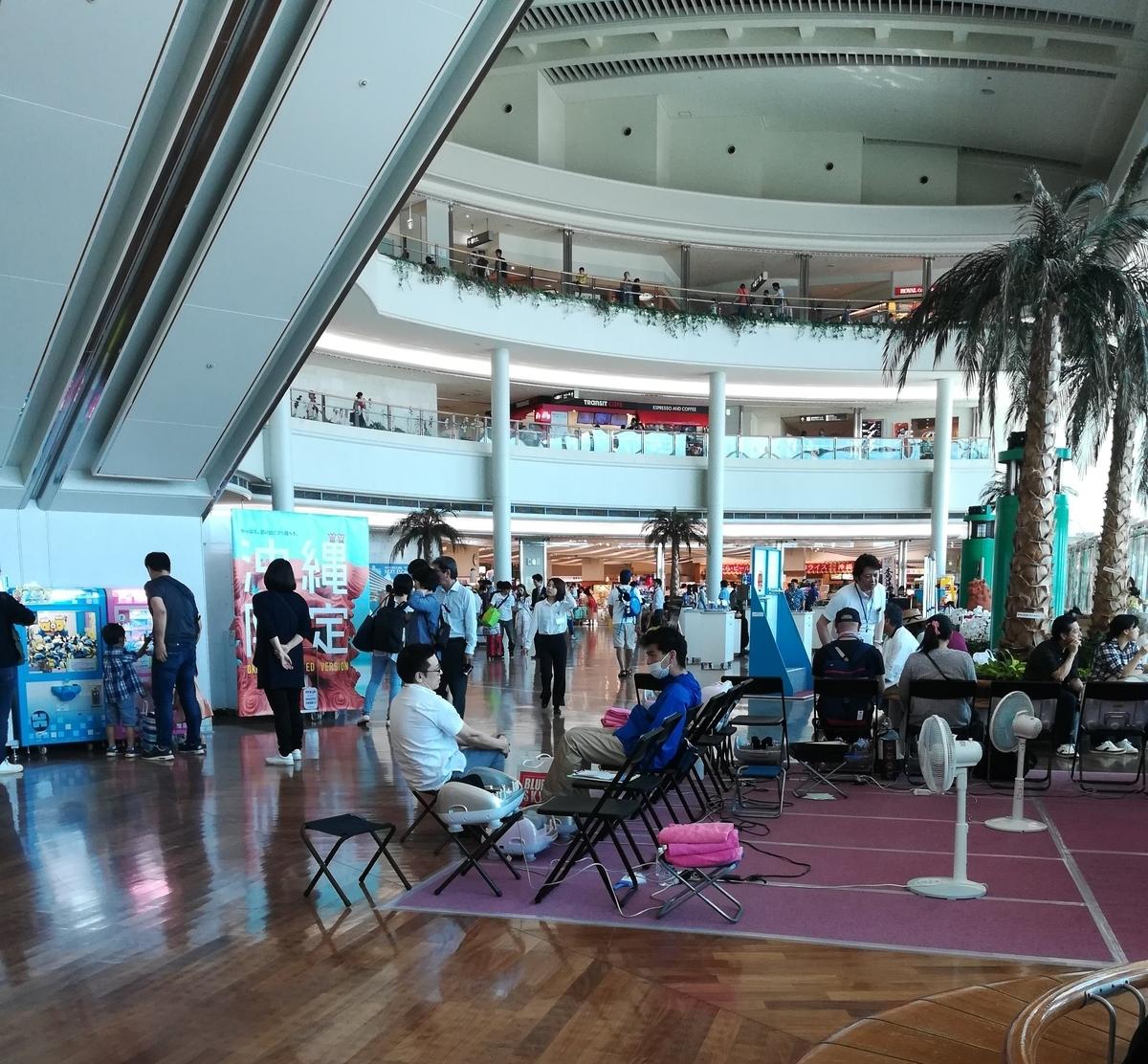 たくさんのショップがあるので那覇空港も見どころのひとつ!
