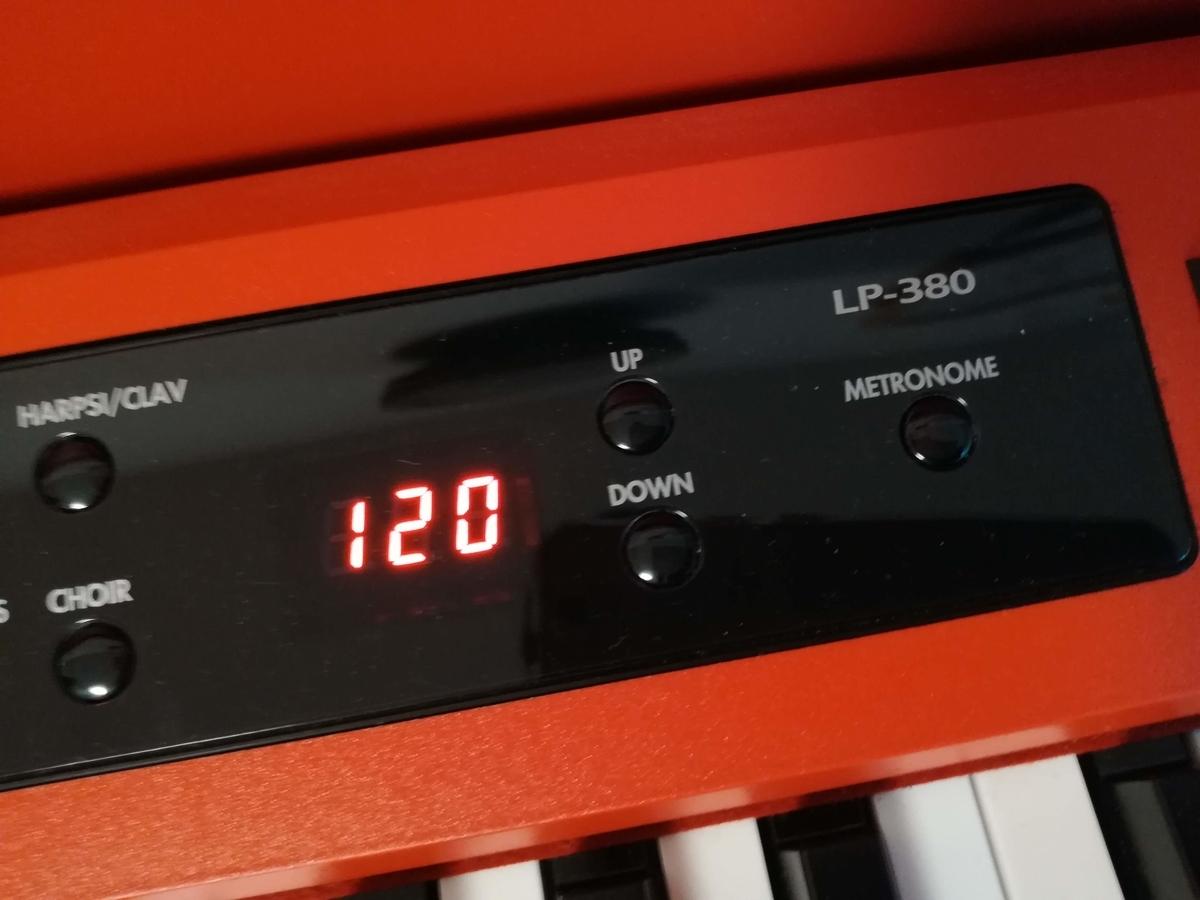 電子ピアノにはメトロノームもついている!