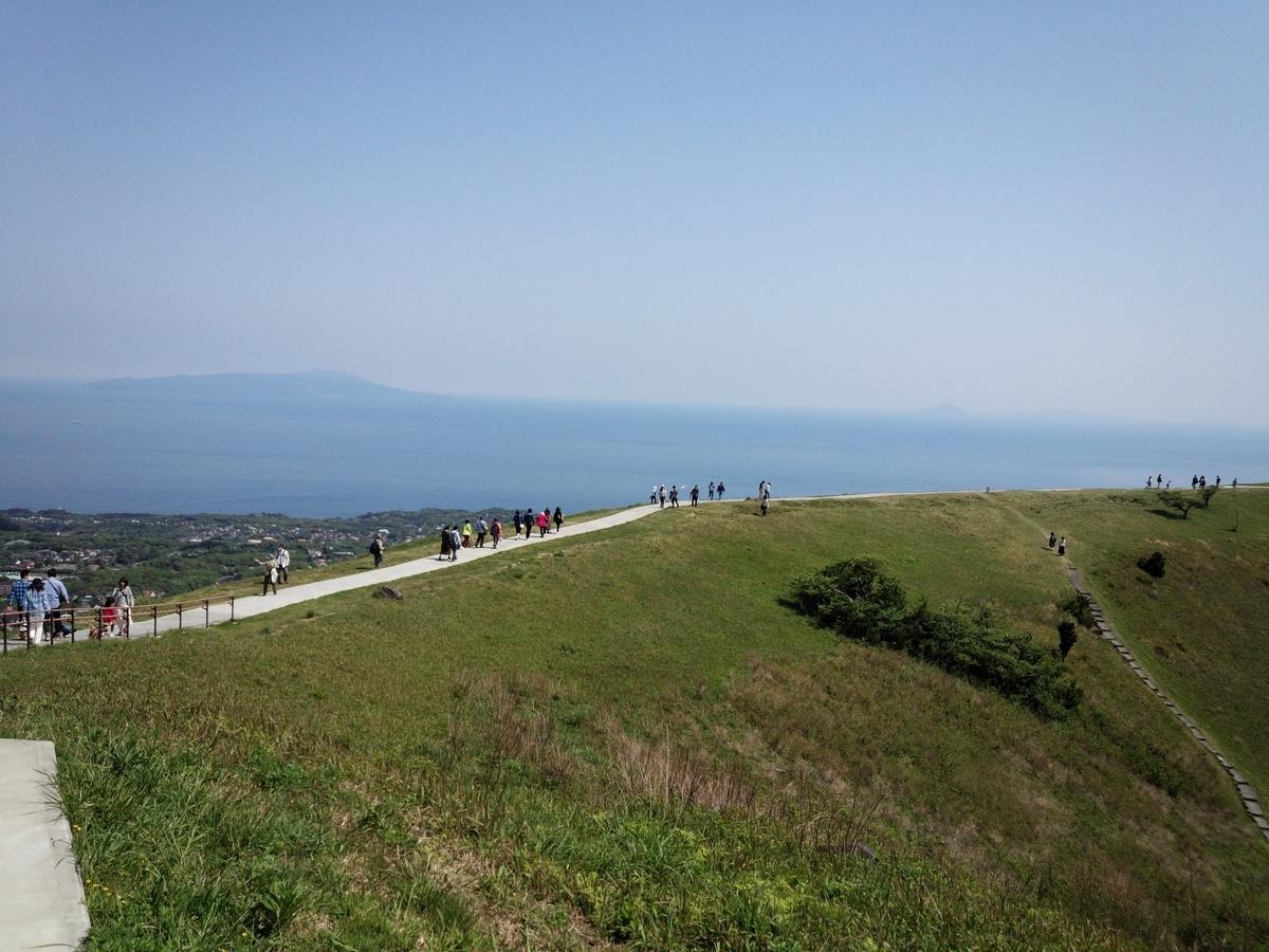 大室山のお鉢めぐりは天気の良い日にぜひとも行っておきたい!