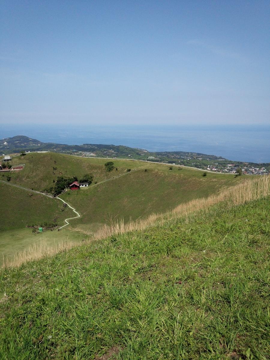 大室山の自然と景色を存分に楽しめます!